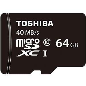 東芝 microSDXC 64GB Class10 UHS-I 防水 耐X線 TOSHIBA 並行輸入品 SD-C064GR7AR040A