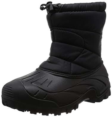 [アルバートル] ユニセックス アウトドア 防水 EVA ブーツ AL-WP1800 BK ブラック 230235(23cm)