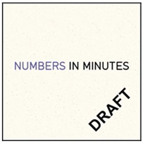 Numbers in Minutes (English Edition)