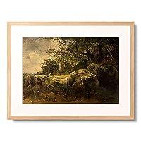 Ssawrasoff, Alexej,1830-1897 「Landschaft in der Umgebung von Oranienbaum. 1854.」 額装アート作品