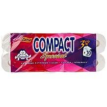 Cutie Comapct Special 3ply Bathroom Tissue, 10 count