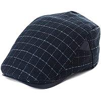 Unisex Irish Flat Hat Newsboy Cap Hunting Driving Golf Scottish Gatsby Plaid 55-60cm
