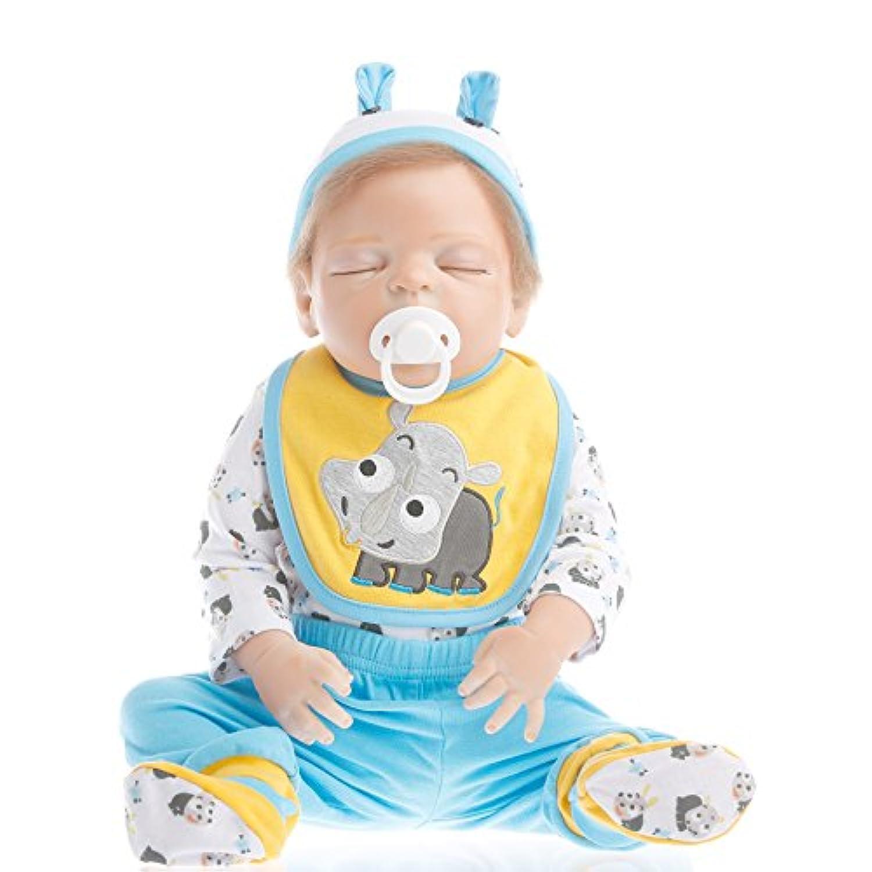 NPK collection Rebornベビー人形Realisticベビー人形22インチビニールシリコン赤ちゃん人形Newborn Realベビー人形Sleeping Baby