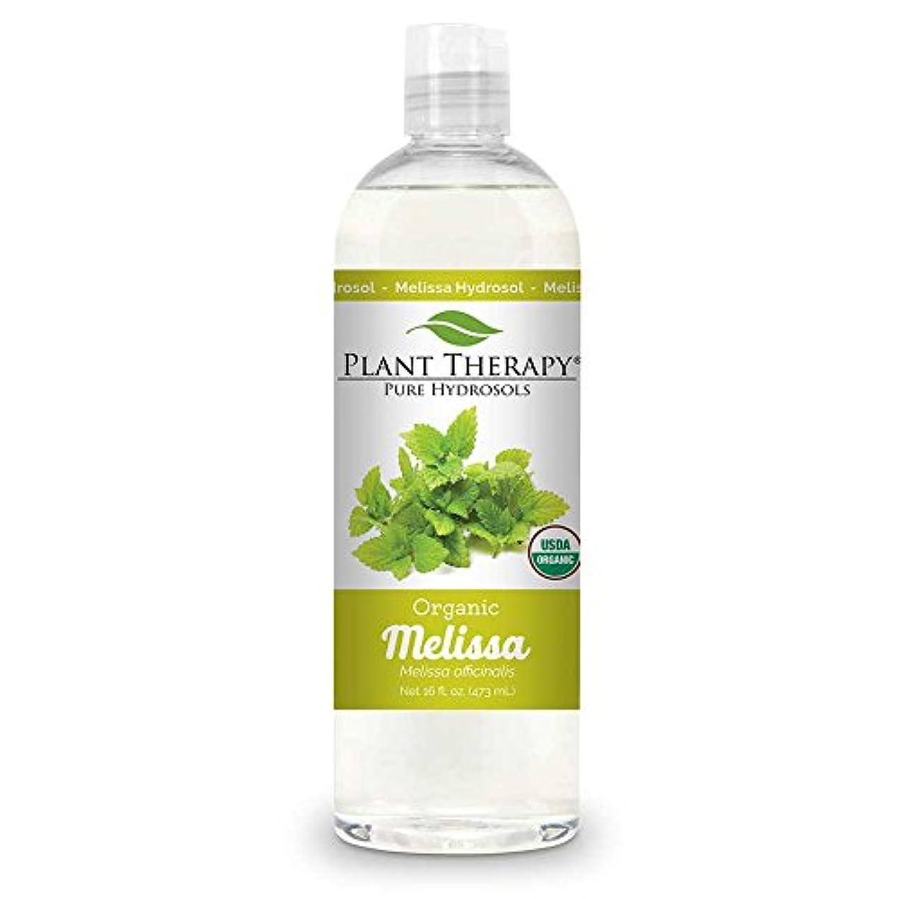 芝生率直な健康的エッセンシャルオイルの植物セラピーメリッサORGANICヒドロゾル16オンス(フラワー水)バイプロダクト
