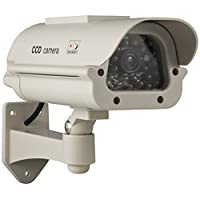 Linemak Dummy solar energy indoor/ outdoor CCTV Security Camera [並行輸入品]