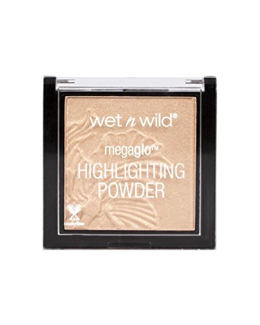 接尾辞不毛のメロドラマティックWET N WILD MegaGlo Highlighting Powder - Precious Petals (並行輸入品)