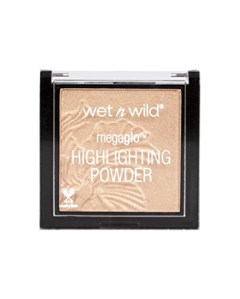 省略拍車たらいWET N WILD MegaGlo Highlighting Powder - Precious Petals (並行輸入品)