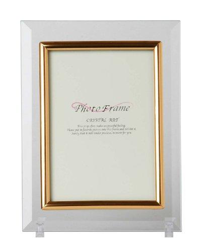 DNPフォトイメージング フォトフレーム クリスタルアート ハガキ ガラス 透明 100521