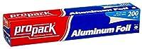 PROPACKアルミニウムシルバー箔12インチ幅200フィート長 1 pack AX-AY-ABHI-28240