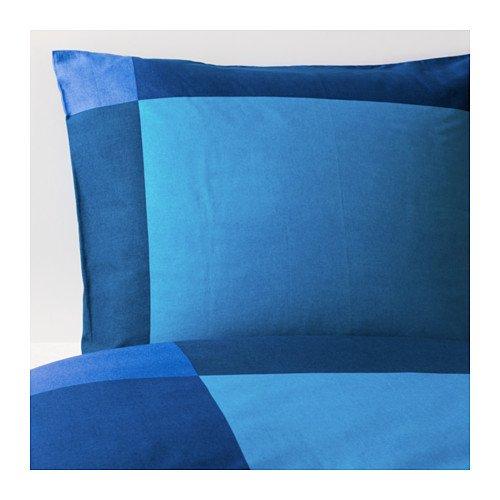 RoomClip商品情報 - ★ブルーンクリスラ / BRUNKRISSLA / 掛け布団カバー&枕カバー / ブルー[イケア]IKEA(80173247)
