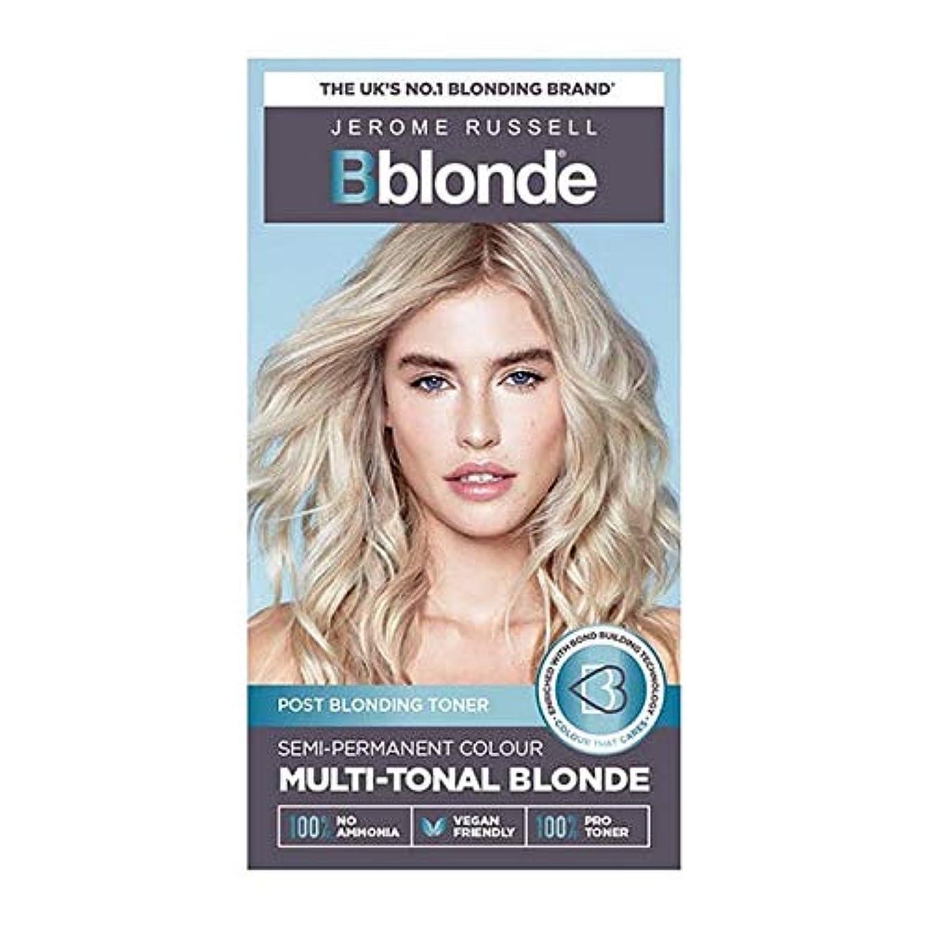 ライド練習我慢する[Jerome Russell ] ジェロームラッセルBblondeセミパーマネントトナー媒体ブロンド - Jerome Russell Bblonde Semi Permanent Toner Medium Blonde...