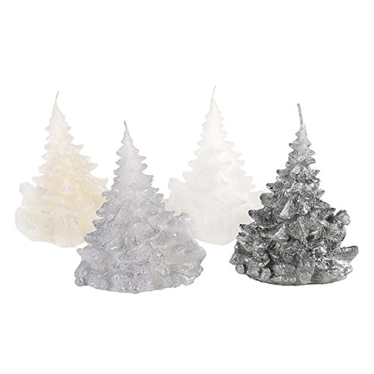 雲法的量でCandle Atelierハンドメイド休日キャンドル Merry Christmas Trees 4F1-CTP1VTW-0SP