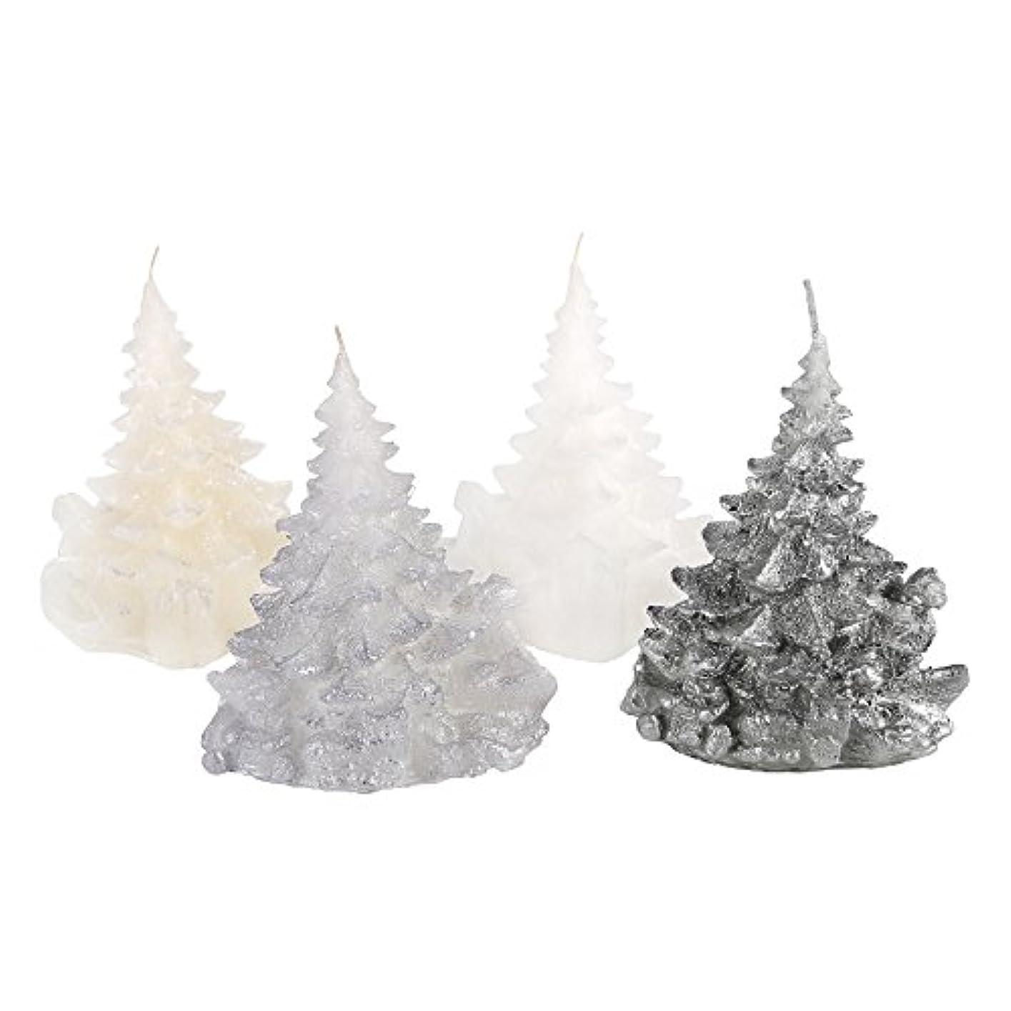 オープニング仮説ホーンCandle Atelierハンドメイド休日キャンドル Merry Christmas Trees 4F1-CTP1VTW-0SP