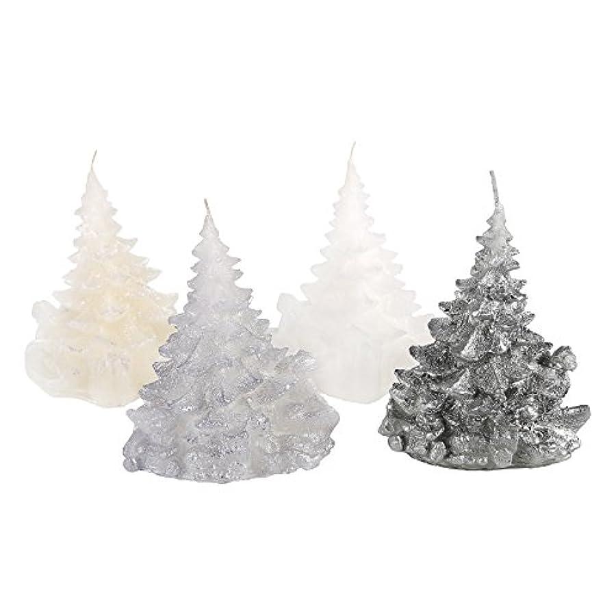 外科医バラ色チャップCandle Atelierハンドメイド休日キャンドル Merry Christmas Trees 4F1-CTP1VTW-0SP