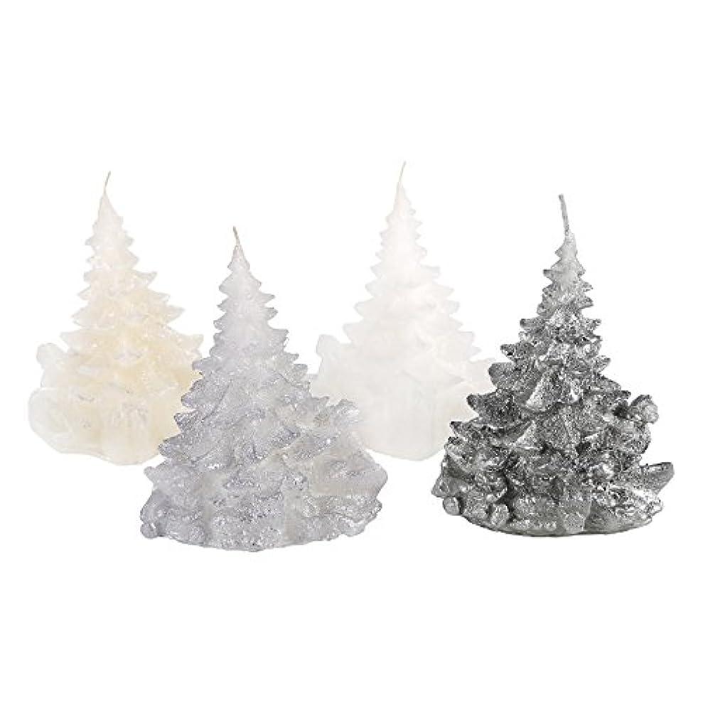 やめる明らかにする調停者Candle Atelierハンドメイド休日キャンドル Merry Christmas Trees 4F1-CTP1VTW-0SP