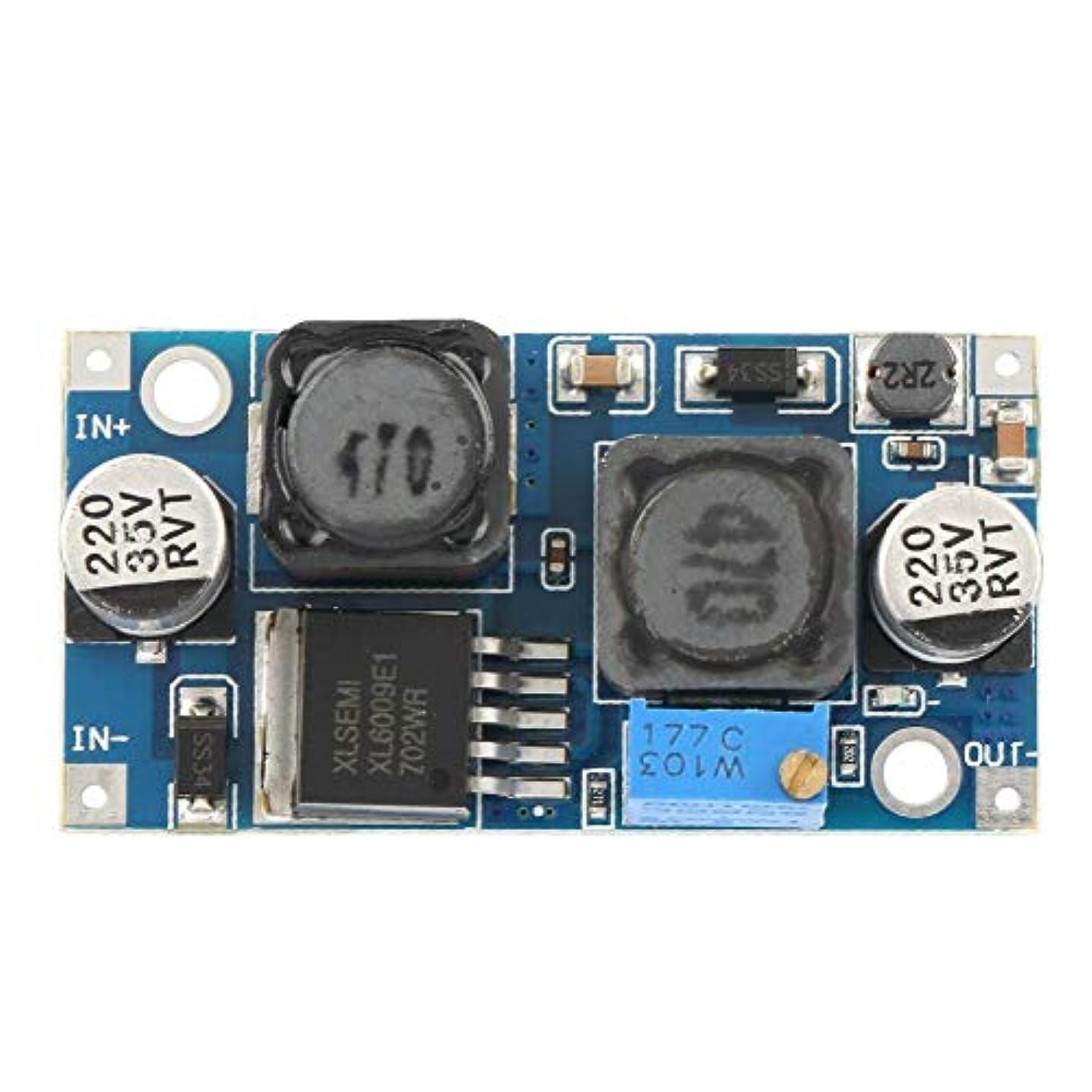バーチャル手当じゃないDC-DC 3.8-32Vステップアップ1.3-35V昇圧コンバーター電圧レギュレーター電源モジュール調整可能な自動昇圧レギュレーターモジュール