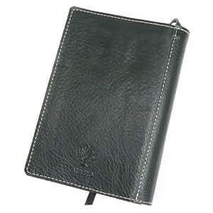 [アルベロ] ALBERO ブックカバー 文庫本サイズ 革 5508 BERRETTA ベレッタシリーズ グリーン AL-5508-52: シューズ&バッグ
