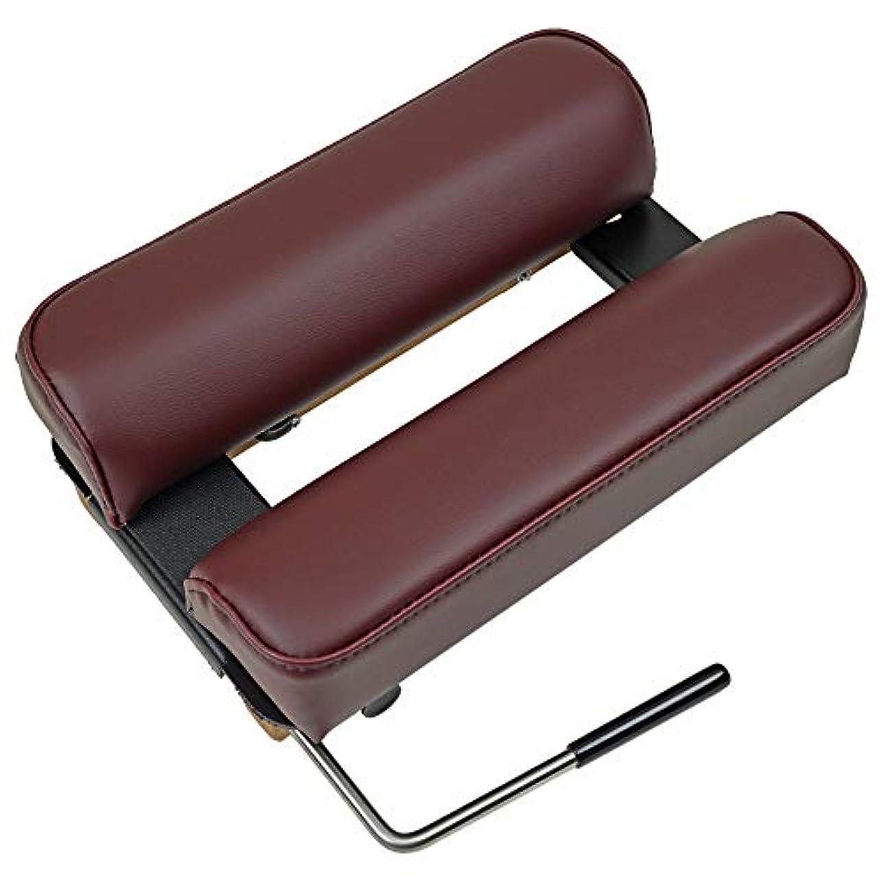 記述するレガシー技術的なTHULI TABLE (ツゥーリテーブル) ポータブルドロップ A ツゥーリ?ポータブルテーブル100 に装備の ヘッドピース 頚椎 の アジャストに