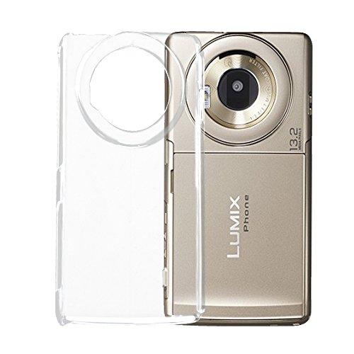 ホワイトナッツ LUMIX Phone P-02D ケース クリア ハード スマホケース