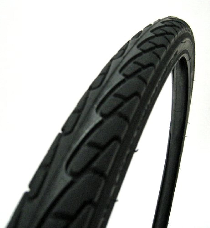 自転車用 タイヤ?チューブセット1台分 27×1  3/8 黒 CHENG SHIN 対磨耗タイヤ&スーパーチューブ英式ノーマルバルブリムフラップ無し /