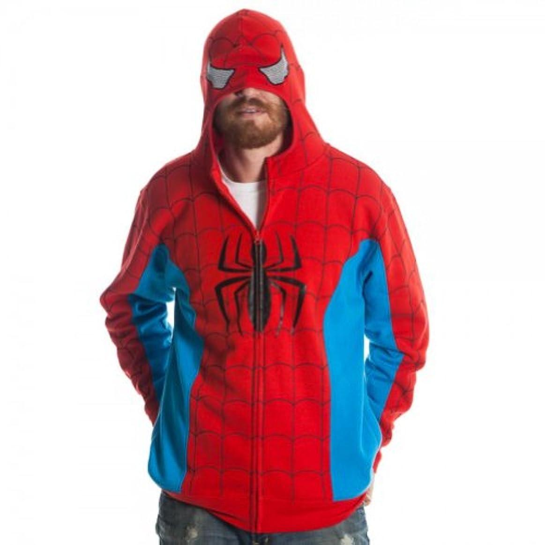 集中スケジュールヒューバートハドソンマーベル スパイダーマン変身パーカー 衣装?コスチューム Mサイズ