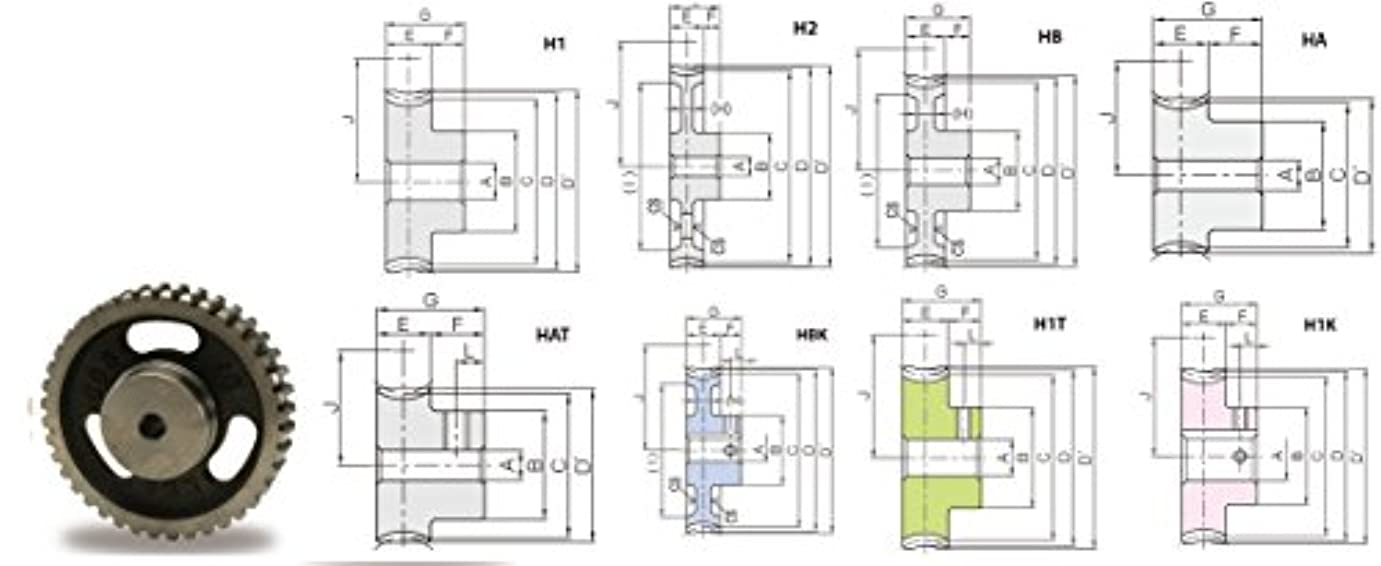 先史時代の人工的な分布トラスコ中山 KHK ウォームホイルCG2-20R2 CG220R2