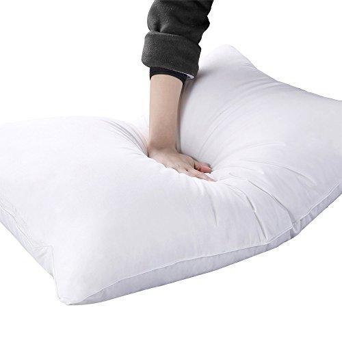 枕 安眠 人気 高級快眠枕 肩こり解消 高反発 首と肩をしっかり支える 熟眠 ホテル式 横向き対応 包装精巧 43×63cm ホワイト