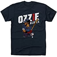 500レベルOzzie Albiesシャツ – Atlanta Baseballメンズアパレル – Ozzie Albies Bat