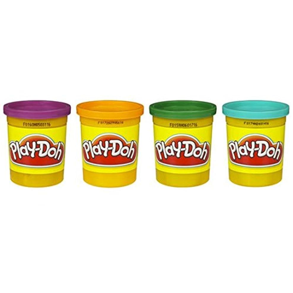 義務乱暴なシロクマplay-doh 4 -パックの色20oz – パープル、オレンジ、グリーン&ティール
