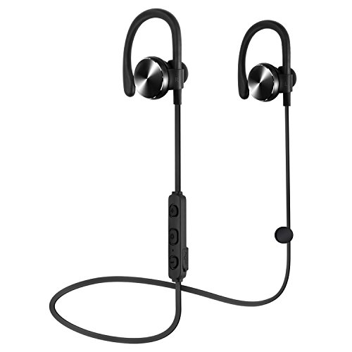 COULAX Bluetooth イヤホン IPX5防水 ハンズフリー通話 CVC6.0ノイズキャンセリング搭載 ワイヤレス イヤホン 10時間の放送 1年保証 改良版