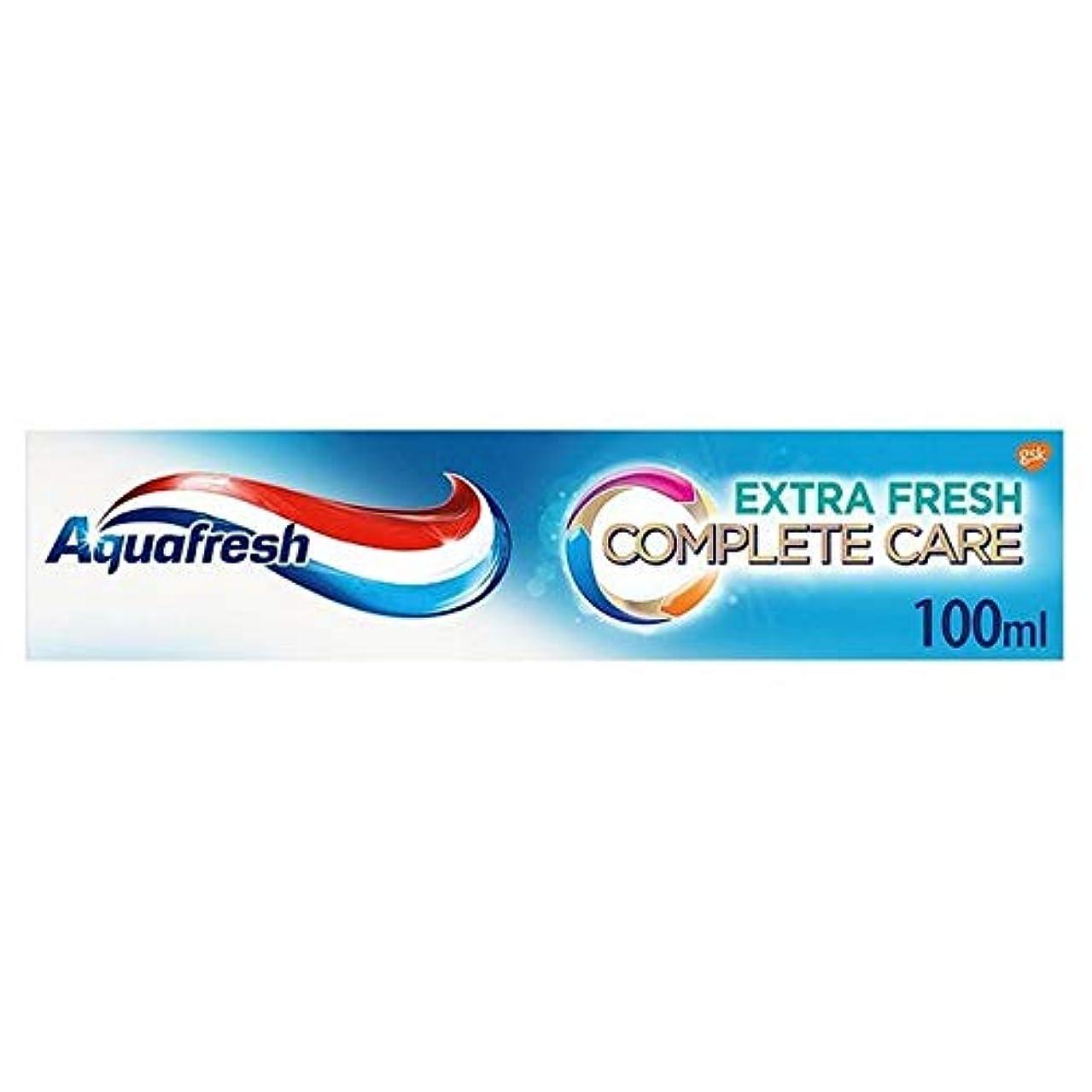 無秩序吹きさらし累計[Aquafresh ] アクアフレッシュ完全なケアの余分な新鮮な歯磨き粉の100ミリリットル - Aquafresh Complete Care Extra Fresh Toothpaste 100ml [並行輸入品]