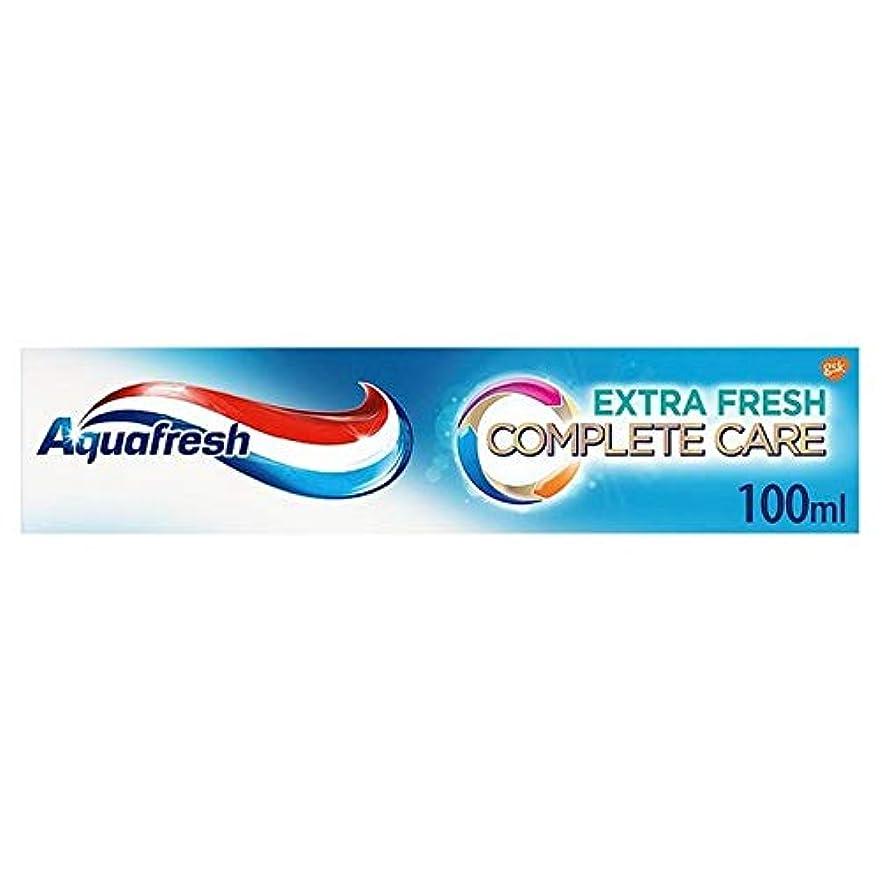 課税放送猟犬[Aquafresh ] アクアフレッシュ完全なケアの余分な新鮮な歯磨き粉の100ミリリットル - Aquafresh Complete Care Extra Fresh Toothpaste 100ml [並行輸入品]