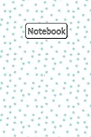 Notebook: 6 x 9, Wide Ruled, 120 pages, Journal, Diary, Composition Book, Baby Boy Colors