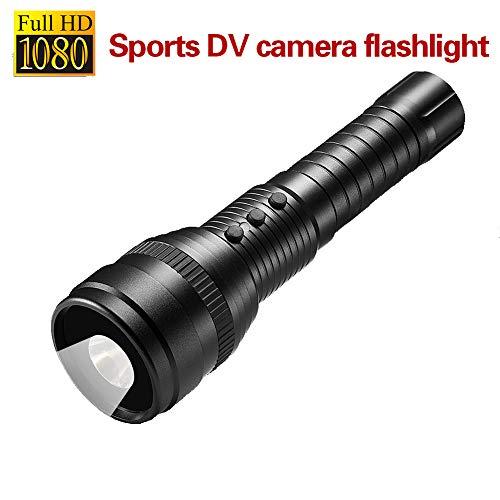 スポーツカメラ 1080 p HD DV 懐中電灯 led ...
