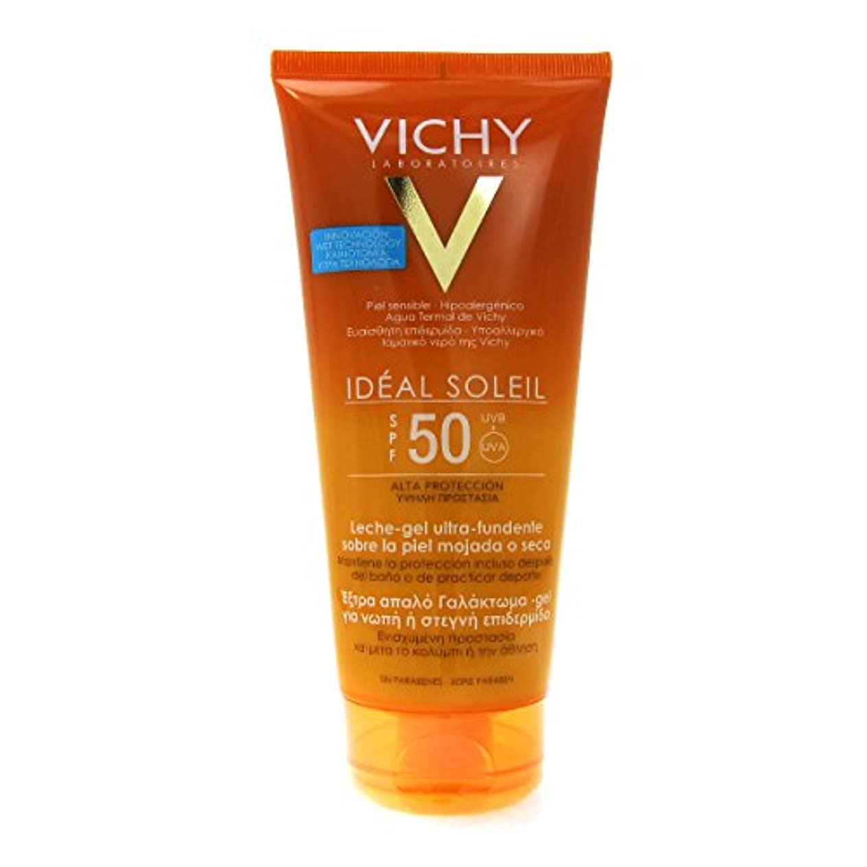 登録暴徒石Vichy Capital Soleil Ideal Soleil Gel-cream Spf50 Face And Body 200ml [並行輸入品]