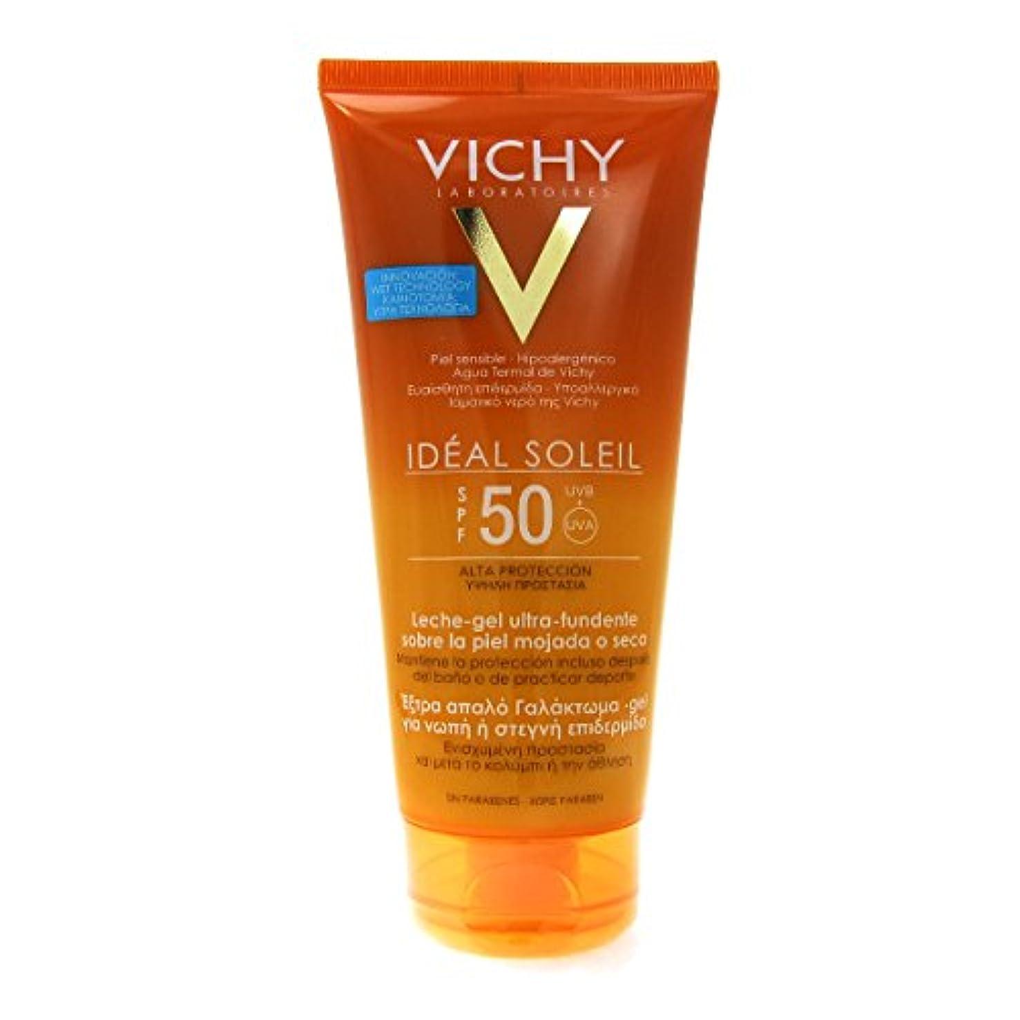 博物館回転攻撃的Vichy Capital Soleil Ideal Soleil Gel-cream Spf50 Face And Body 200ml [並行輸入品]