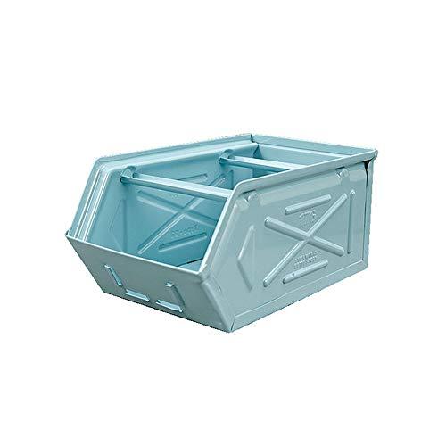 ダルトン(Dulton) 収納ボックス サックス W17×D28×H13cm パーツ ストッカー CH07-H298SB