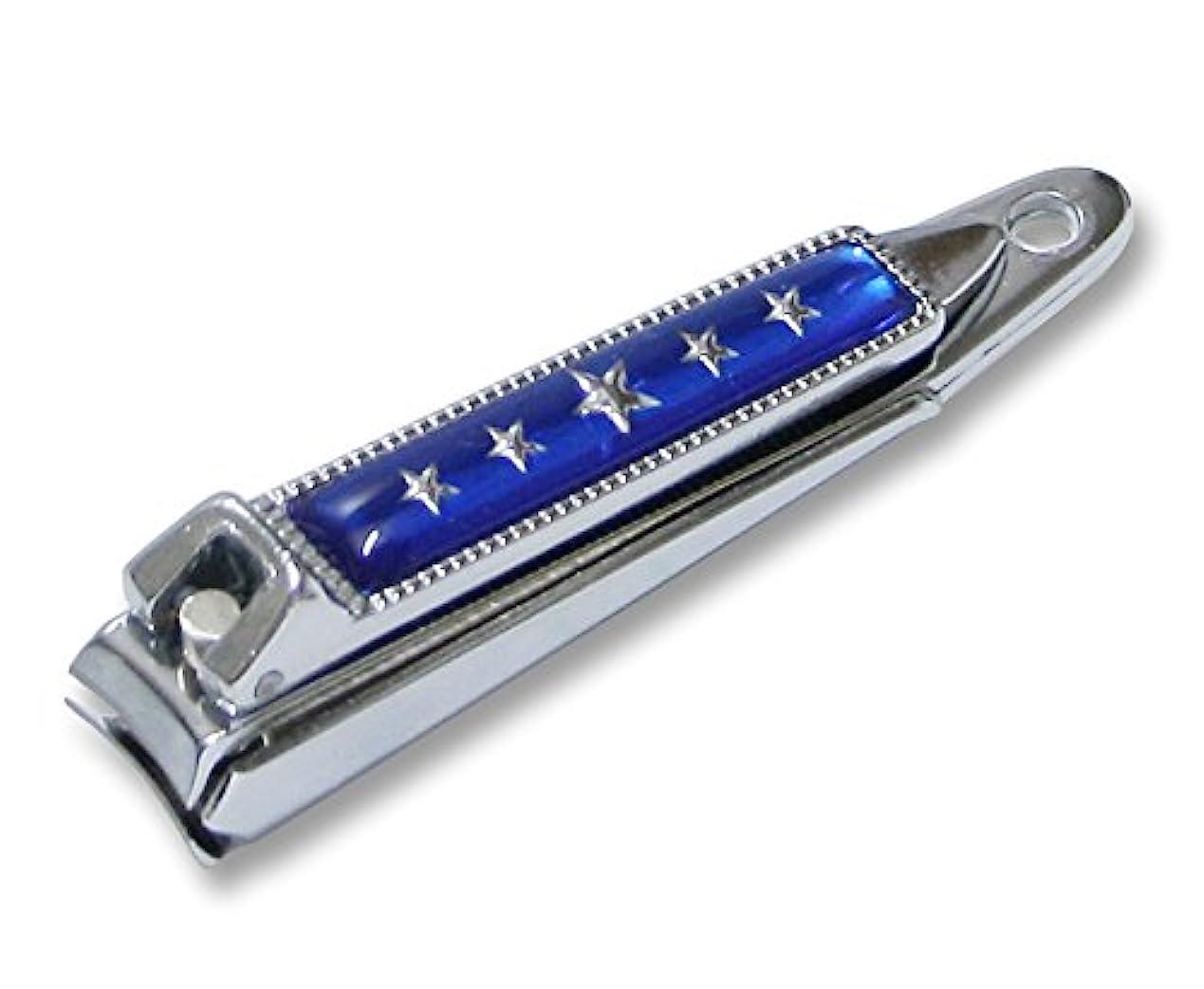 防衛素晴らしさ咳KC-052BL 関の刃物 関兼常 チラーヌ爪切 小 青