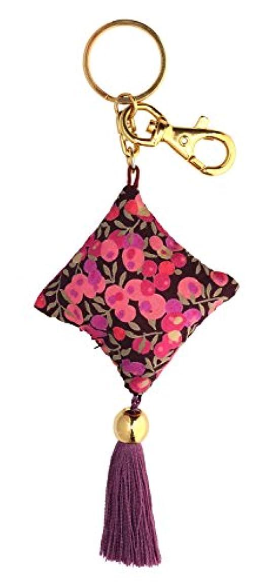 完全に復活するケープperfume Drops キーリング ウィルトシャー ピンク