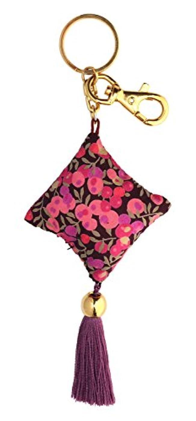 ヒント影響する書誌perfume Drops キーリング ウィルトシャー ピンク