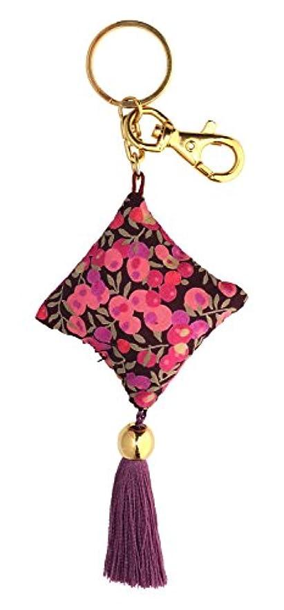 怖がらせるゴール骨折perfume Drops キーリング ウィルトシャー ピンク