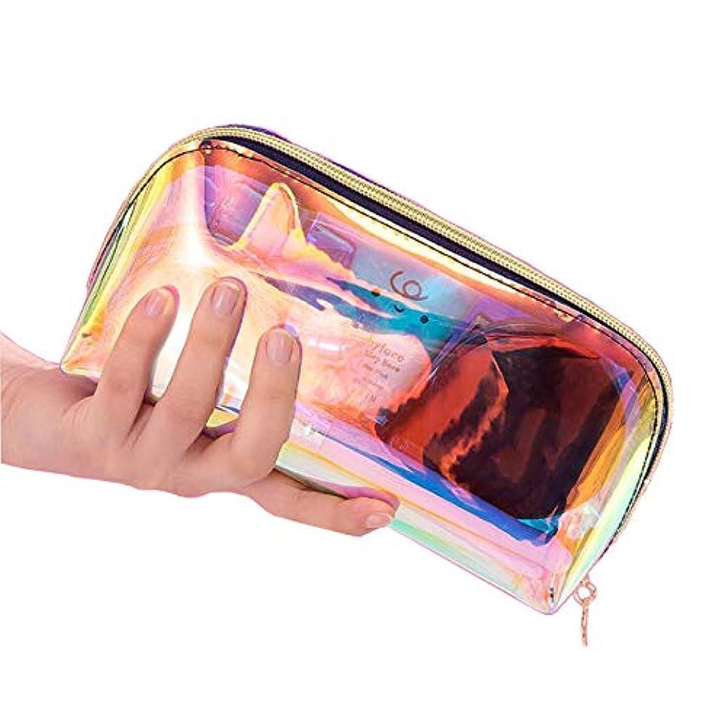 ボートラフ欠乏Ranoki 化粧品バッグ 収納防水多彩透明メッシュ温泉、 ビーチサイド旅行、出張、便利、メイク 収納 メイクブラシポーチ化粧品