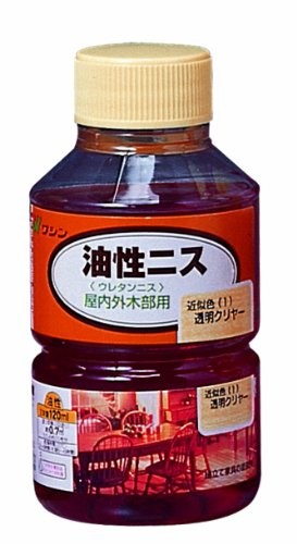 RoomClip商品情報 - 和信ペイント 油性ニス 透明クリヤー  120ml