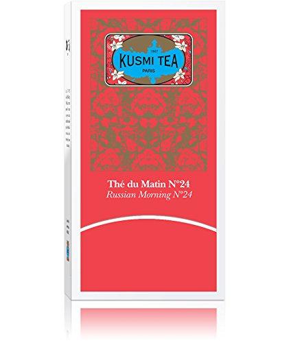 (KUSMI TEA) クスミティー ロシアン モーニング No.24 ティーバッグ (個別包装あり) 2.2g×25袋入り