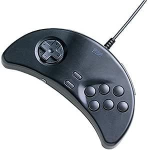 サンワサプライ USBゲームパッド 達人 ブラック JY-P71UBK