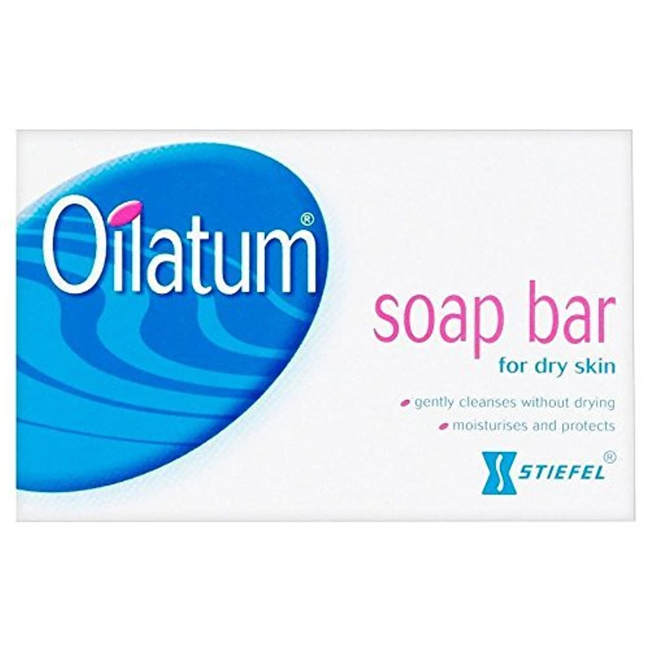 配管工適度に麺Oilatum Soap Bar (100g) - Pack of 2 by Oilatum