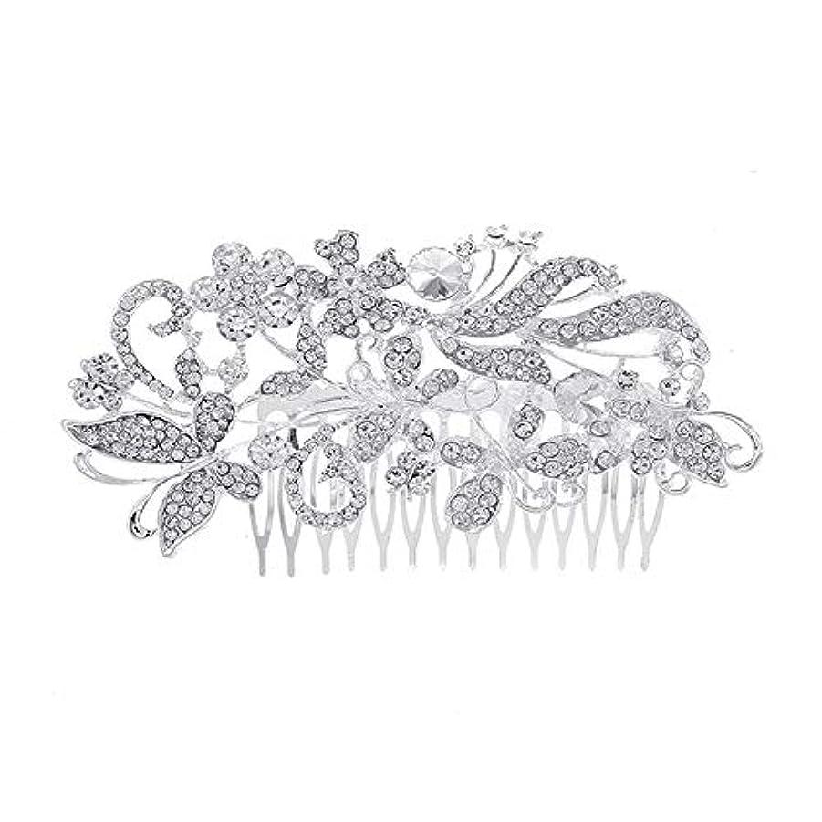 構想する農奴ボウル髪の櫛、櫛、花嫁の髪の櫛、亜鉛合金、結婚式のアクセサリー、櫛