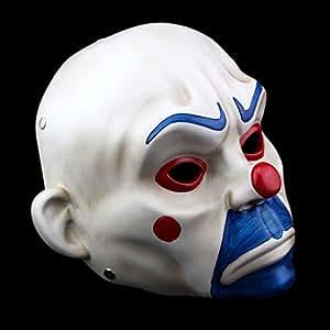 樹脂強盗マスクハロウィンピエロバットマンダークナイト大人の手作り小道具映画キャラクタードレスアップ衣装