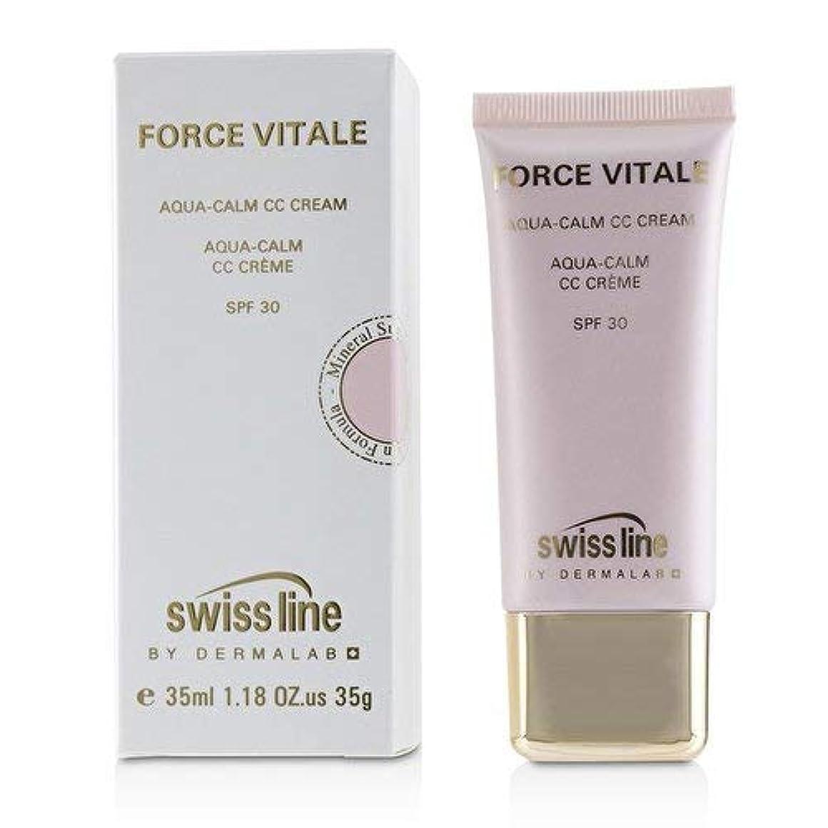 ボイド試験パン屋スイスライン Force Vitale Aqua-Calm CC Cream SPF30 - Beige 10 35ml並行輸入品