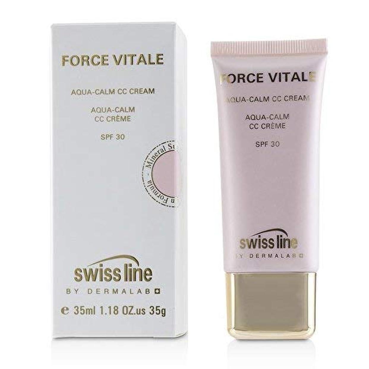 キャンプ騙す想定するスイスライン Force Vitale Aqua-Calm CC Cream SPF30 - Beige 10 35ml並行輸入品